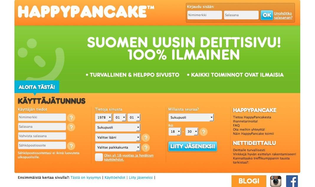 happypancake etusivu